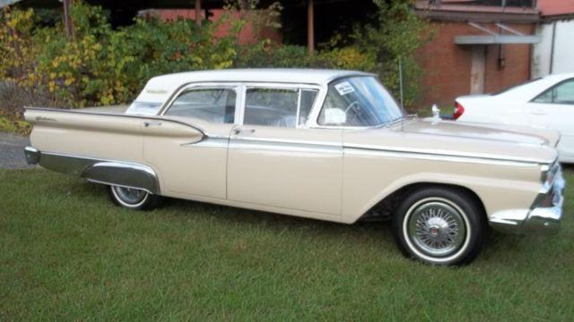 1959 Ford Fairlane - 81k Miles/1Owner- Plastic Covers Still On Seats