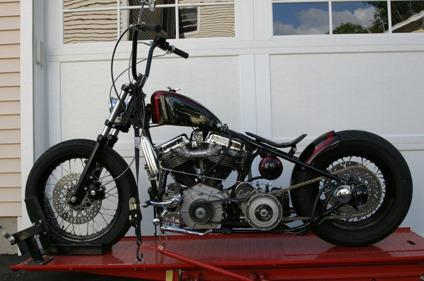 1959 Impeccable Harley-Davidson Panhead Black