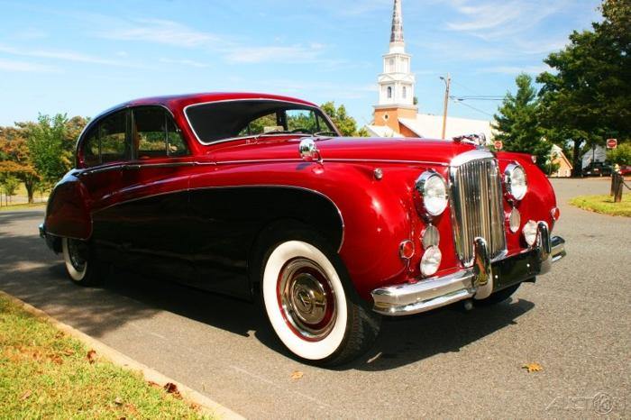1959 Jaguar Mark IX aka Scarlet 9