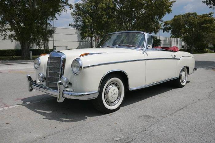 1959 Mercedes Benz 220S CABRIOLET
