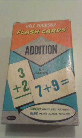 1959 VINTAGE COMPLETE SET OF HELP YOURSELF FLASH CARDS