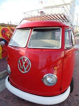 1959 Volkswagen Bus Sealing Wax Red Red 1959 Volkswagen