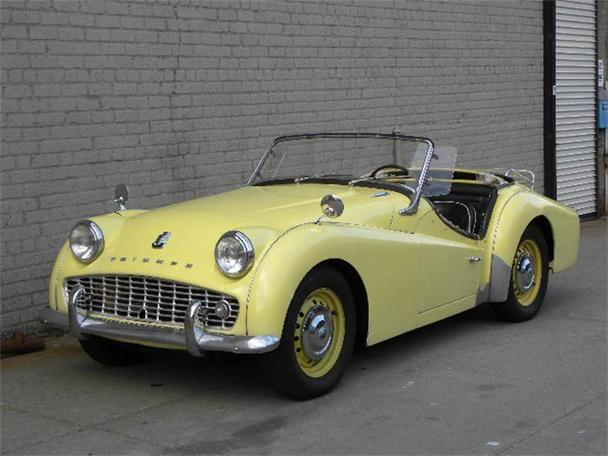 1959 Triumph Tr3 For Sale In New York New York Classified