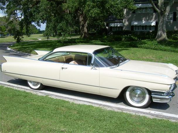 1960 Cadillac Coupe Deville For Sale: 1960 Cadillac DeVille For Sale In Clearwater, Florida