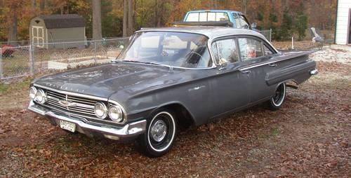 1960 Chevrolet Bel Air 4 Door For Sale In Chester