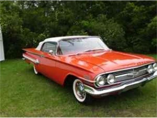 1960 chevrolet impala for sale in conway south carolina classified. Black Bedroom Furniture Sets. Home Design Ideas