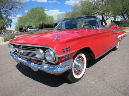 1960 Chevrolet Impala Convertible 348ci for Sale in ...