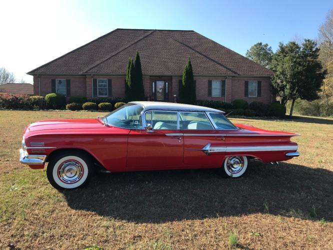 1960 Chevrolet Impala Sedan 4 Door Hard Top Very Nice For Sale In