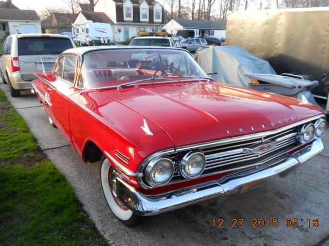 1960 Chevy Impala 2 Door Hard Top 4 Speed 335 Hp 348 Engine For Sale