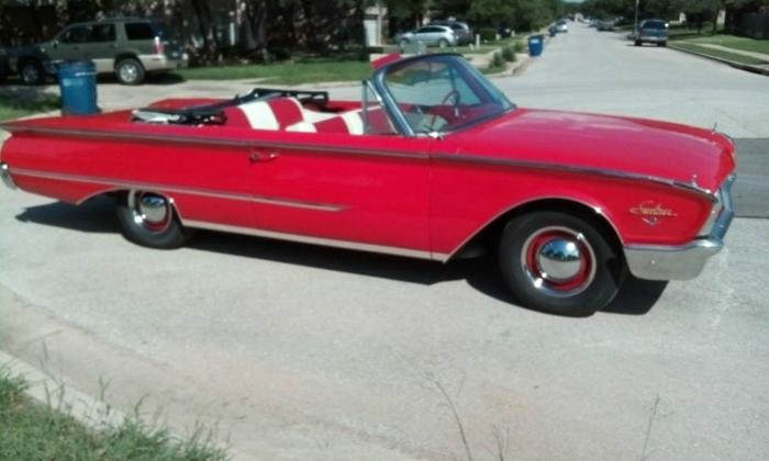 1960 Ford Galaxie Sunliner Convertible For Sale In Boling