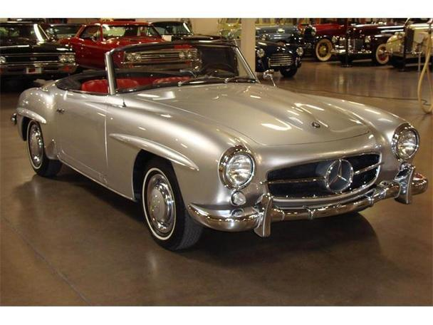 1960 mercedes benz 190sl for sale in costa mesa for Mercedes benz costa mesa
