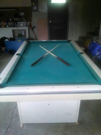 Identify This 8ft Brunswick Please - Billiards Forum