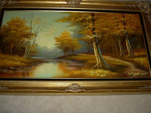 1960 S John Cantrell Oil Painting Quot Autumn Quot For Sale In