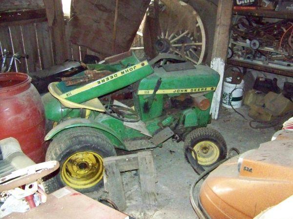 1960's John deere 110 garden tractors (Warren county) for ...