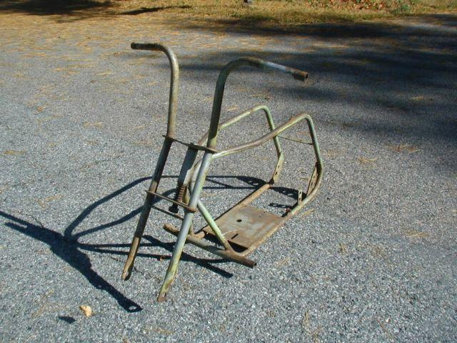 1960s vintage lil indian minibike frame for sale in holliston massachusetts