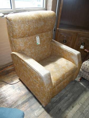 Terrific 1960S Vinyl Recliner With Heat Massage For Sale In Short Links Chair Design For Home Short Linksinfo