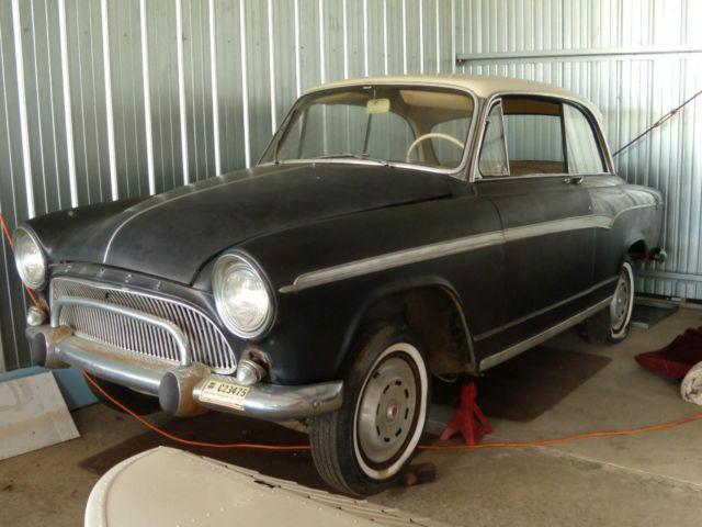 1960 simca aronde 2 door coupe manual french for for American restoration cars for sale