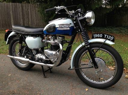 1960 Triumph Bonneville T-120 - VERY RARE - worldwide