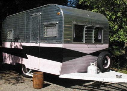 1960 Vintage Kenskill Travel Trailer For Sale In Garland