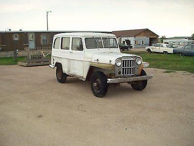 1960 Willys Jeep AMC Station Wagon Four Wheel Drive 4X4