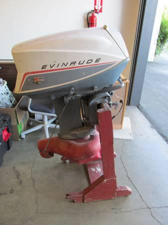 1960s evinrude outboard jet boat motor ski twin electric for Boat motors for sale in florida