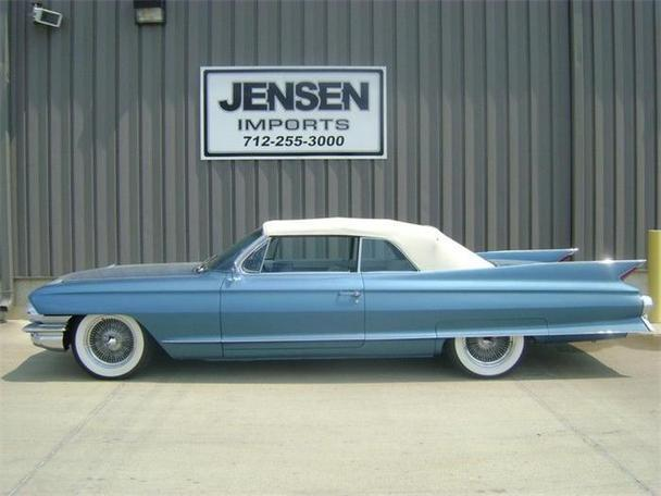 1961 cadillac series 62 for sale in sioux city iowa classified. Black Bedroom Furniture Sets. Home Design Ideas