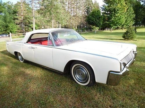 1961 lincoln continental must see for sale in ligonier. Black Bedroom Furniture Sets. Home Design Ideas