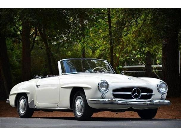 1961 mercedes benz 190sl for sale in houston texas for Mercedes benz for sale houston