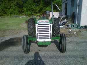 1961 Oliver 550 Tractor 41 Hp Cameron For Sale In