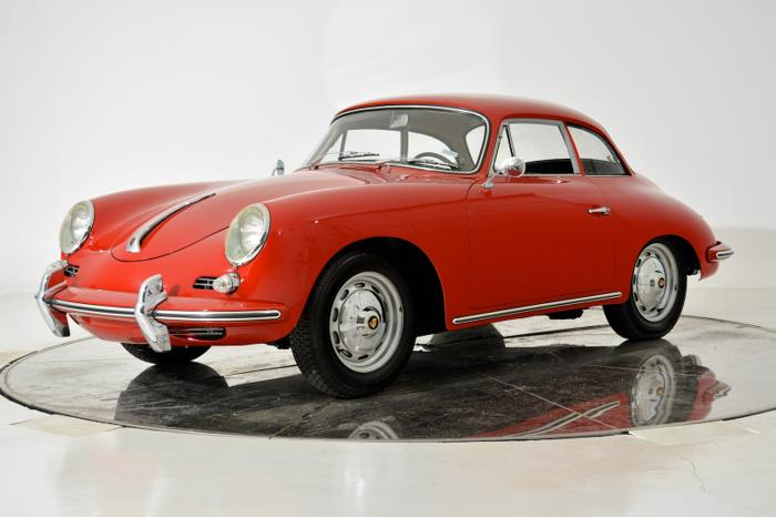 1961 Porsche 356b T 5 Super Notchback Coupe For Sale In
