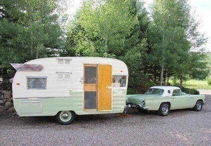 1961 shasta airflyte vintage travel trailer for sale in roanoke