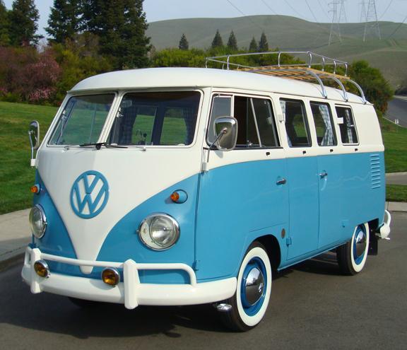 1961 Volkswagen Micro Bus Double Door Camper for Sale in Las