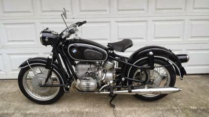 1962 bmw r50 2 survivor vintage german motorcycle 500cc for sale in philadelphia pennsylvania. Black Bedroom Furniture Sets. Home Design Ideas