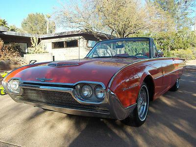 1962 Ford Thunderbird Roadster Restomod