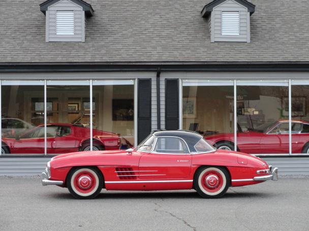 1962 mercedes benz 300sl disc brake roadster price on for Mercedes benz 300sl price