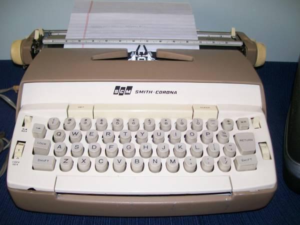 1962 Smith Corona Typewriter - $25