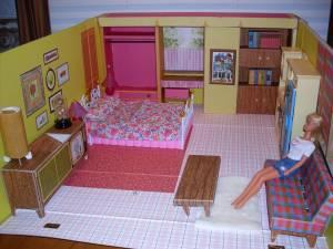 1962 Vintage Barbie House With Playsets And A Vintage