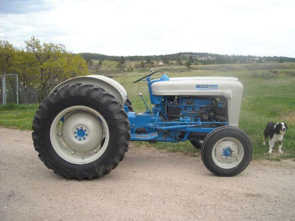 1962 Ford 4000 Tractor Franktown For Sale In Denver