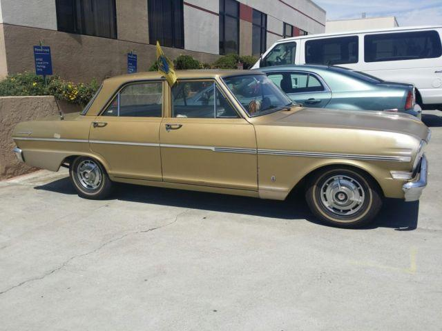Paul Conte Chevrolet >> 1963 CHEVROLET CHEVY II NOVA MODEL 300 4 DOOR SEDAN for Sale in San Leandro, California ...