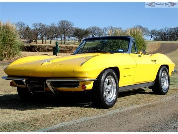1963 chevrolet corvette for sale in arlington texas classified. Cars Review. Best American Auto & Cars Review