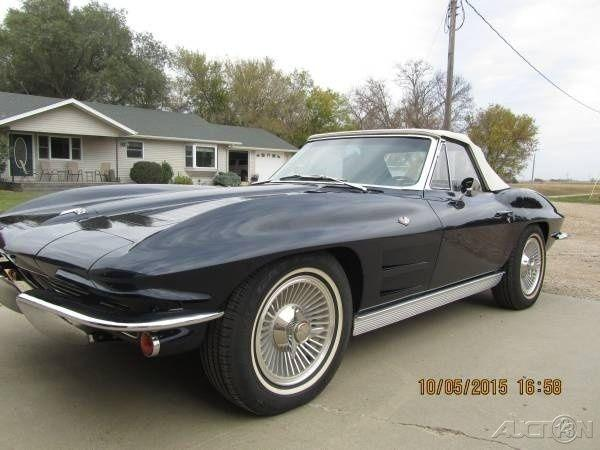 1963 Chevrolet Corvette For Sale in Lisbon, North