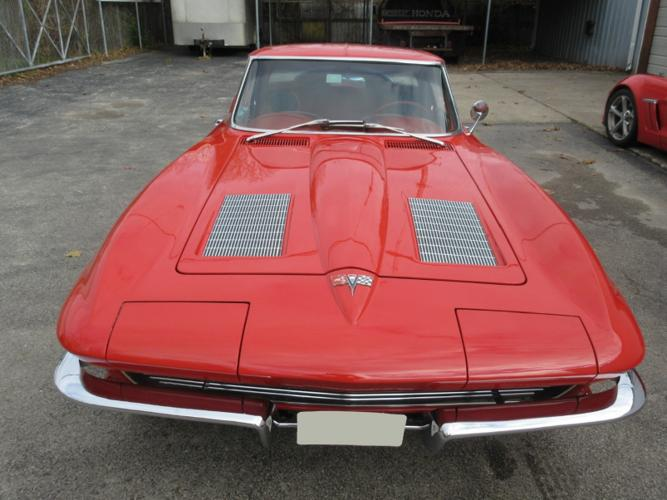 1963 chevrolet corvette split window coupe red for sale in for 1963 chevy corvette split window for sale