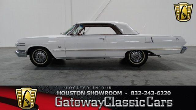 1963 chevrolet impala ss 409 217hou for sale in houston. Black Bedroom Furniture Sets. Home Design Ideas