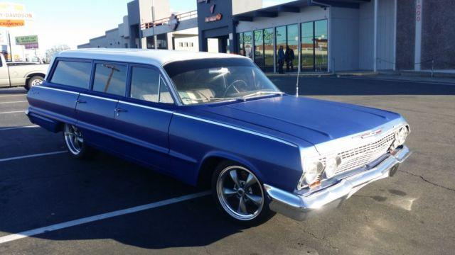 Auto Parts For Sale Redding California: 1963 Chevy Biscayne Station Wagon For Sale In Rocklin