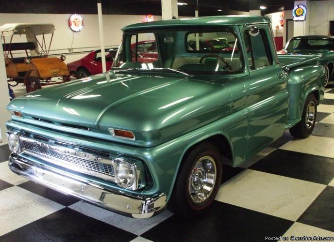 1963 Chevy Custom Pickup For Sale In Connellsville
