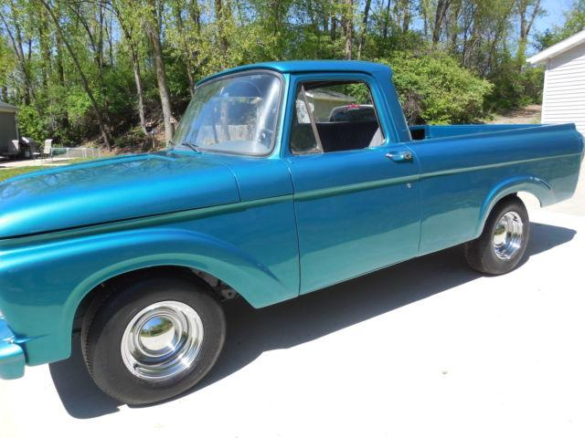 1963 ford f100 unibody for sale in clyde illinois classified. Black Bedroom Furniture Sets. Home Design Ideas