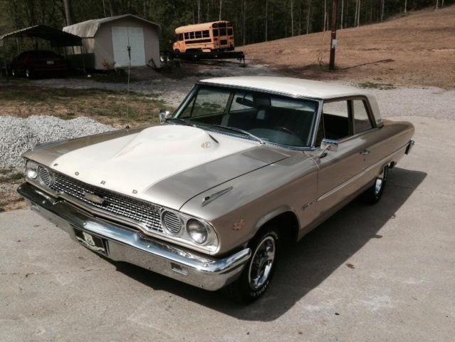 1963 Ford Galaxie with 427 V-8 Engine