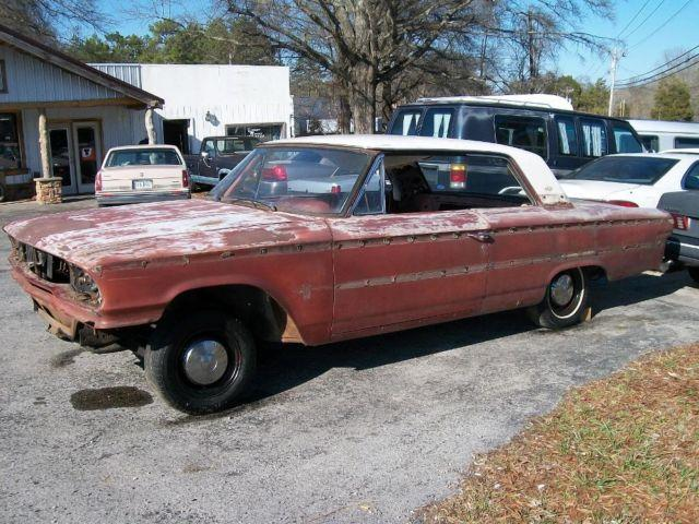 1963 ford galaxie xl500 project rat rod or parts for sale. Black Bedroom Furniture Sets. Home Design Ideas
