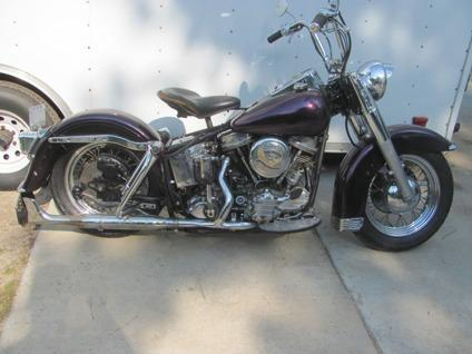1963 Harley-Davidson Panhead Good Running Purple