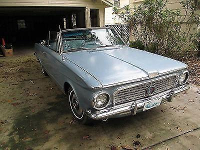 1963 plymouth valiant 200 2 8l convertible for sale in brooksville florida classified. Black Bedroom Furniture Sets. Home Design Ideas